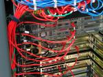 Structured colocation server cabling