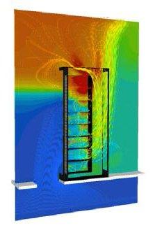 Server Rack Airflow Thermal View